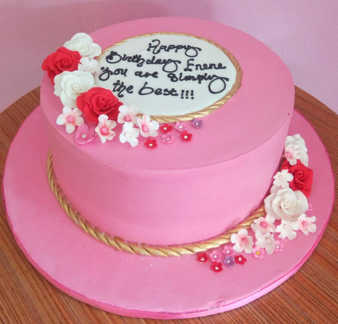 Pleasant Pink Fondant Sweetheart Cake Doofies Cakes Buy Cakes Online In Birthday Cards Printable Riciscafe Filternl